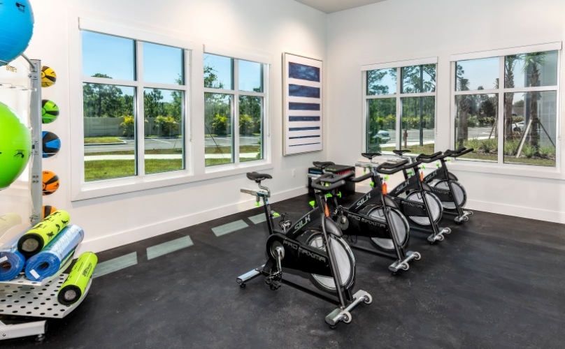 On-site Spin Studio