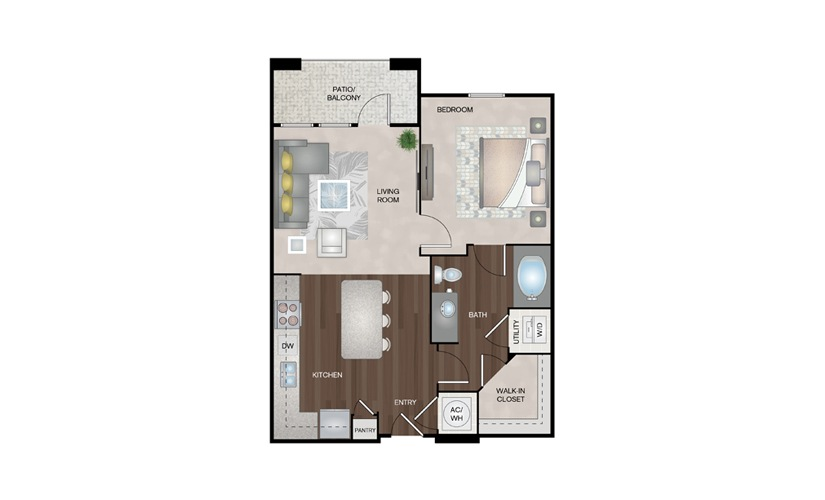 Available one, two, & three bedroom apartments in ...